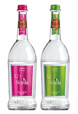 Norda Luxury 75cl bottiglia ristorazione vetro