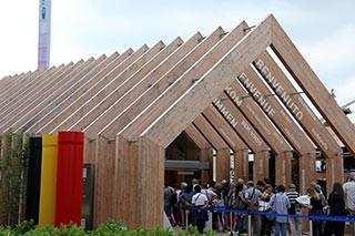Padiglione Belgio expo Milano 2015