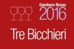 Tre Bicchieri Gamero Rosso 2016