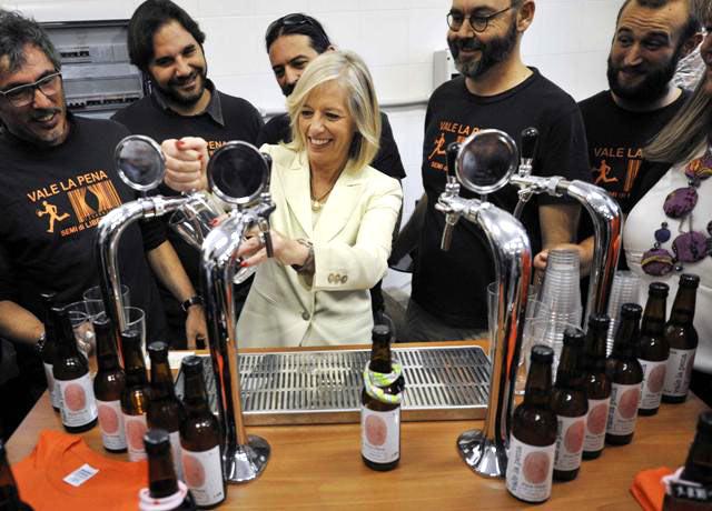 ministro dell'Istruzione Stefania Giannini mastri birrai birrificio Vale la Pena Teo Musso