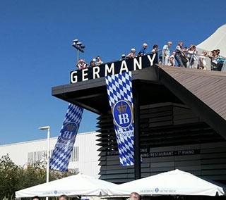 Oktoberfest anche nel Padiglione Tedesco con HB München a Expo 2015
