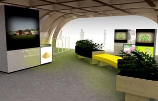 Sojasun Expo Milano 2015 Interno Soia No Ogm Francia Vita Expo Padiglione Percorso Sensoriale Ciclo