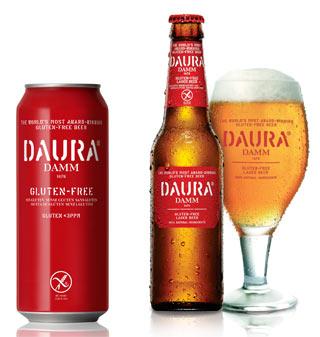DAURA DAMM gluten free: nuovo look ma sempre l'autentico piacere di una vera birra