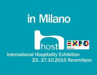 Al via Fiera Milano HOST 2015, la Fiera Mondiale dell'Ospitalità Professionale