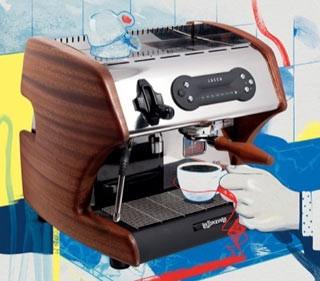 Consigliata La Spaziale Compatta Clive Coffee Macchine Caffè Bloomberg Eleganza Spaziale