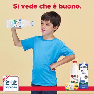 CENTRALE DEL LATTE DI VICENZA: nuovo logo e  nuova immagine in occasione della nuova campagna pubblicitaria