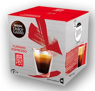 YUNNAN ESPRESSO: la prima limited edition di NESCAFÉ DOLCE GUSTo per vivere l'oriente in una tazzina di caffè