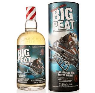 Lo Scotch Whisky BIG PEAT in edizione limitata per il Natale 2015