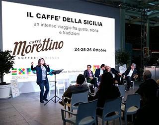 Caffè Morettino: Il Caffè della Sicilia al Cluster Bio-Mediterraneo in Expo