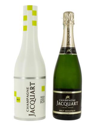 "Lo champagne JACQUART presenta il ""FRESH MOSAIC BOX"""