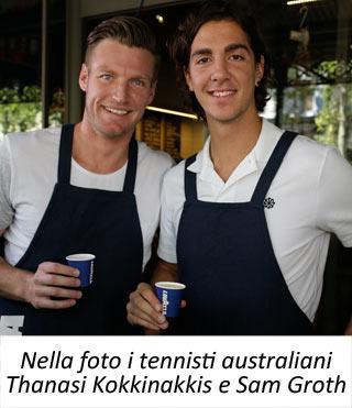 """LAVAZZA conquista l'Australian Open e completa lo """"SLAM"""""""
