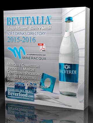BEVITALIA 2015-16, il nuovo annuario con tutte le informazioni sul mondo delle bevande analcoliche