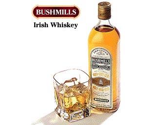 GANCIA distribuisce in italia  l'irish whiskey BUSHMILLS
