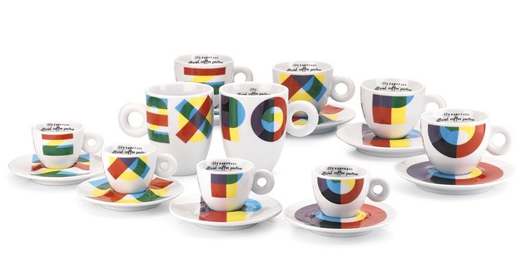 gruppo espresso, cappuccino e mug illy Official Coffee Partner Expo