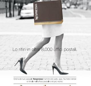 NESPRESSO & POSTE ITALIANE: accordo per il servizio di ritiro delle capsule negli uffici postali