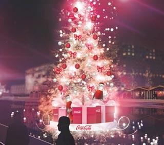 Coca Darsena Cola Partner Christmas Natale Coca-cola Village Milano Main Eventi