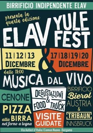 Elav Yule Fest: due week-end in Birrificio aspettando il nuovo Sole