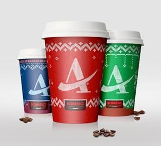 AUTOGRILL: prima edizione limitata di Coffee Cups natalizie