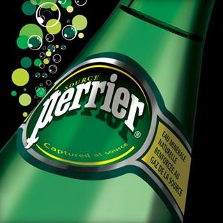 PERRIER, l'acqua minerale frizzante più bevuta nel mondo, vende oltre 1.200 Mln di bottiglie