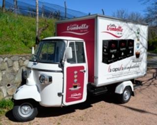 Caffè Espresso Campagna Capsule Caffè Nespresso Campagna Pubblicitaria Caffè Trombetta Trombetta Capsule