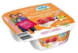 La cooperativa MILA  presenta il nuovo yogurt GUSTO+GUSTO SENZA LATTOSIO