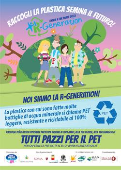 """R-GENERATION: 32.000 gli alunni coinvolti nel concorso """"Raccogli la Plastica. Semina Il Futuro"""""""