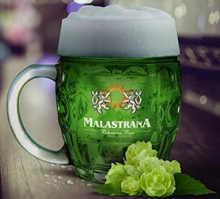 Malastrana birra verde Green Beer Zelenè