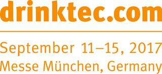 DRINKTEC 2017:  al centro il tema della gestione dell'acqua e dell'energia per l'industria delle bevande