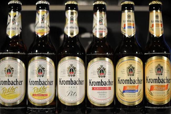 krombacher bier der-Krombacher-Gruppe