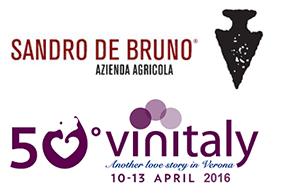 Vinitaly Soave Agricola Bruno Stand Sandro Sandro De Bruno