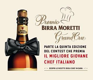 Parte la 6° edizione del concorso PREMIO BIRRA MORETTI GRAND CRU 2016