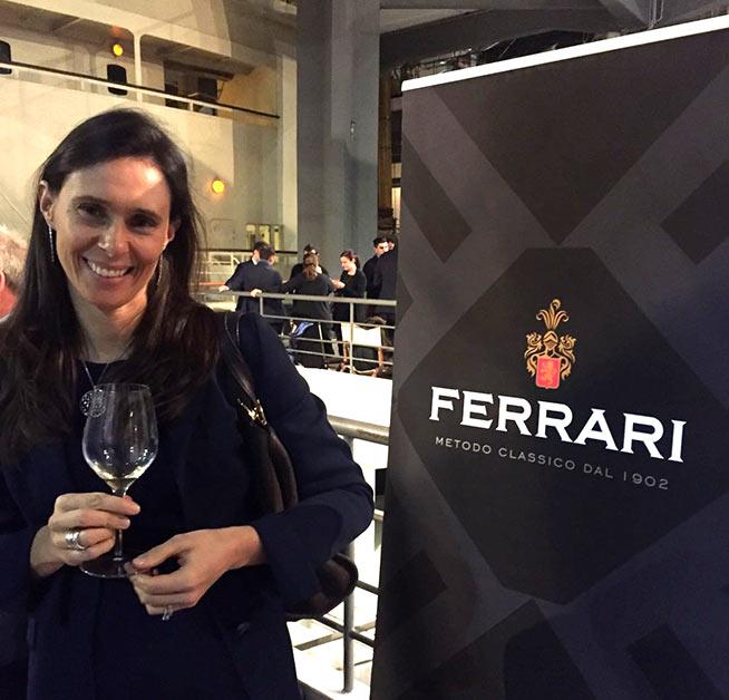 Camilla Lunelli responsabile marketing e comunicazione Tenute Lunelli / Ferrari