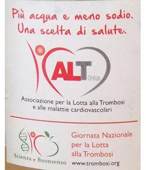 BRACCA ACQUE MINERALI: 2 milioni di etichette dedicate alla prevenzione delle malattie da Trombosi