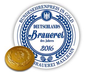 """La birreria SCHLOSSBRAUEREI MAXLRAIN è la """"Best Brewery 2016"""" della Germania"""