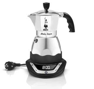 MOKA TIMER BIALETTI: ora è possibile essere svegliati dall'inconfondibile aroma del caffè