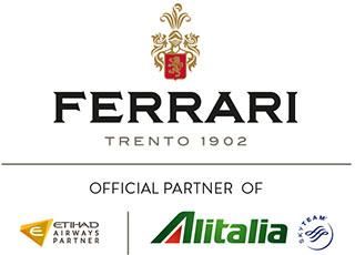 FERRARI è il brindisi ufficiale di Alitalia
