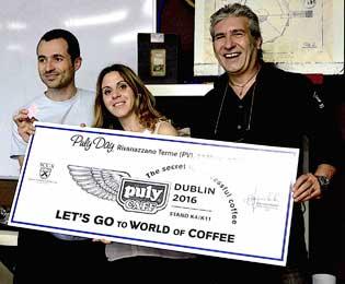 Grazie a PULYCAFF, Elisabetta Paviglianiti vola a Dublino