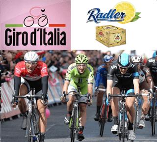 BIRRA MORETTI RADLER fornitore ufficiale del Giro d'Italia