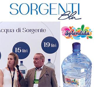 Sorgenti Blu presenta a Venditalia la prima acqua minerale naturale in boccioni monouso.