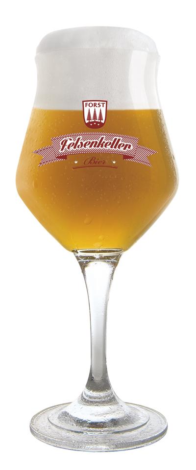 FORST Felsenkeller Bier