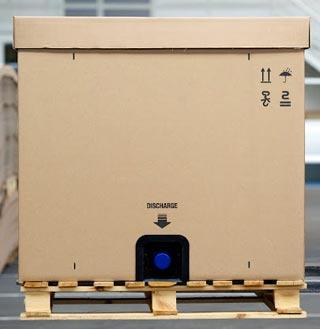 EREDI CAIMI presenta il nuovo contenitore cartonato da 1000 litri