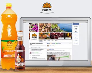 BIBITE POLARA è su Facebook per rendere sempre più forte il legame con i suoi clienti