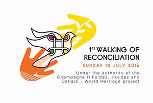 Riconciliazioni Anniversario Comité Champagne Champagne Iscrizione Marcia Unesco Mondiale Patrimonio