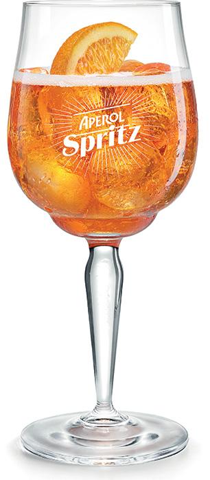 Campari aperitivi aperol spritz presenta il signature for Bicchiere da spritz