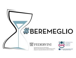 #BEREMEGLIO: FIPE E FEDERVINI insieme  per un progetto nazionale per promuovere una cultura del bere di qualità