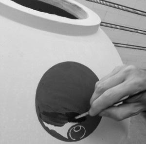 Contenitori In Gres Crescente Ceramico Packaging Successo Contenitore Barrique Affinamento Vino Clayver
