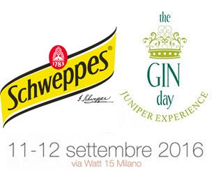 Tutto il gusto di SCHWEPPES alla quarta edizione del Gin Day