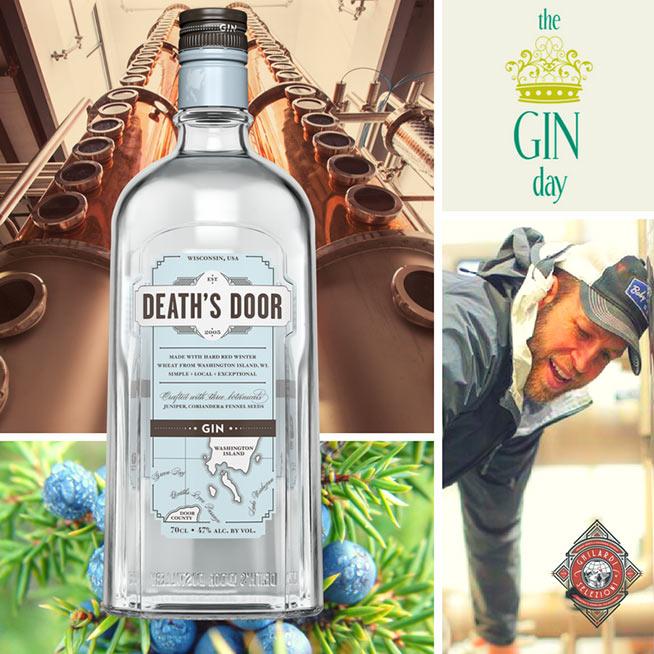 Immagine di Death's Door Gin presa dalla pagina facebook di Ghilardi Selezioni