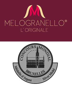 MELOGRANELLO®: conquista la Silver Medal allo Spirits Selection by Concours Mondial de Bruxelles