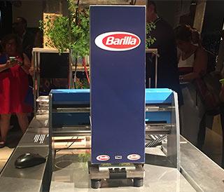 Barilla e la pasta del futuro stampata in 3D, ai fornelli Davide Oldani